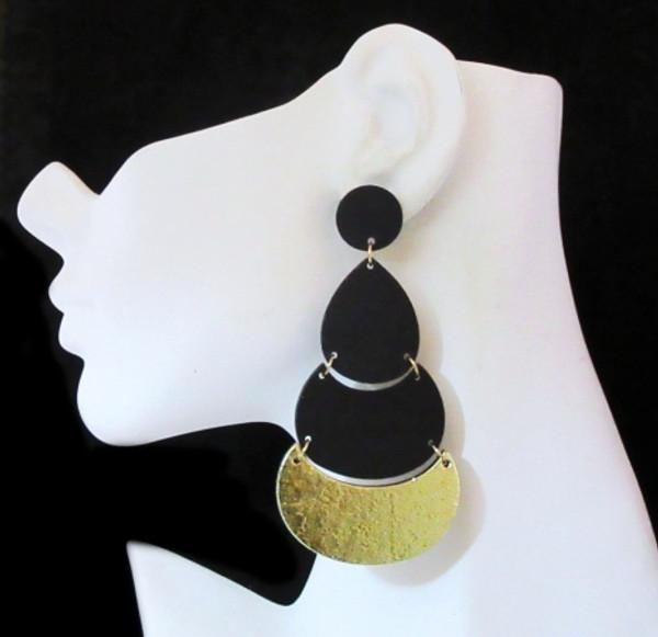 Wood Earrings-22020