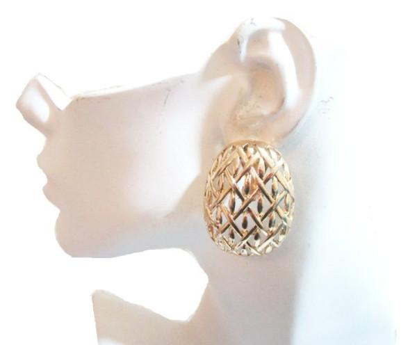 Clip Earrings-21059