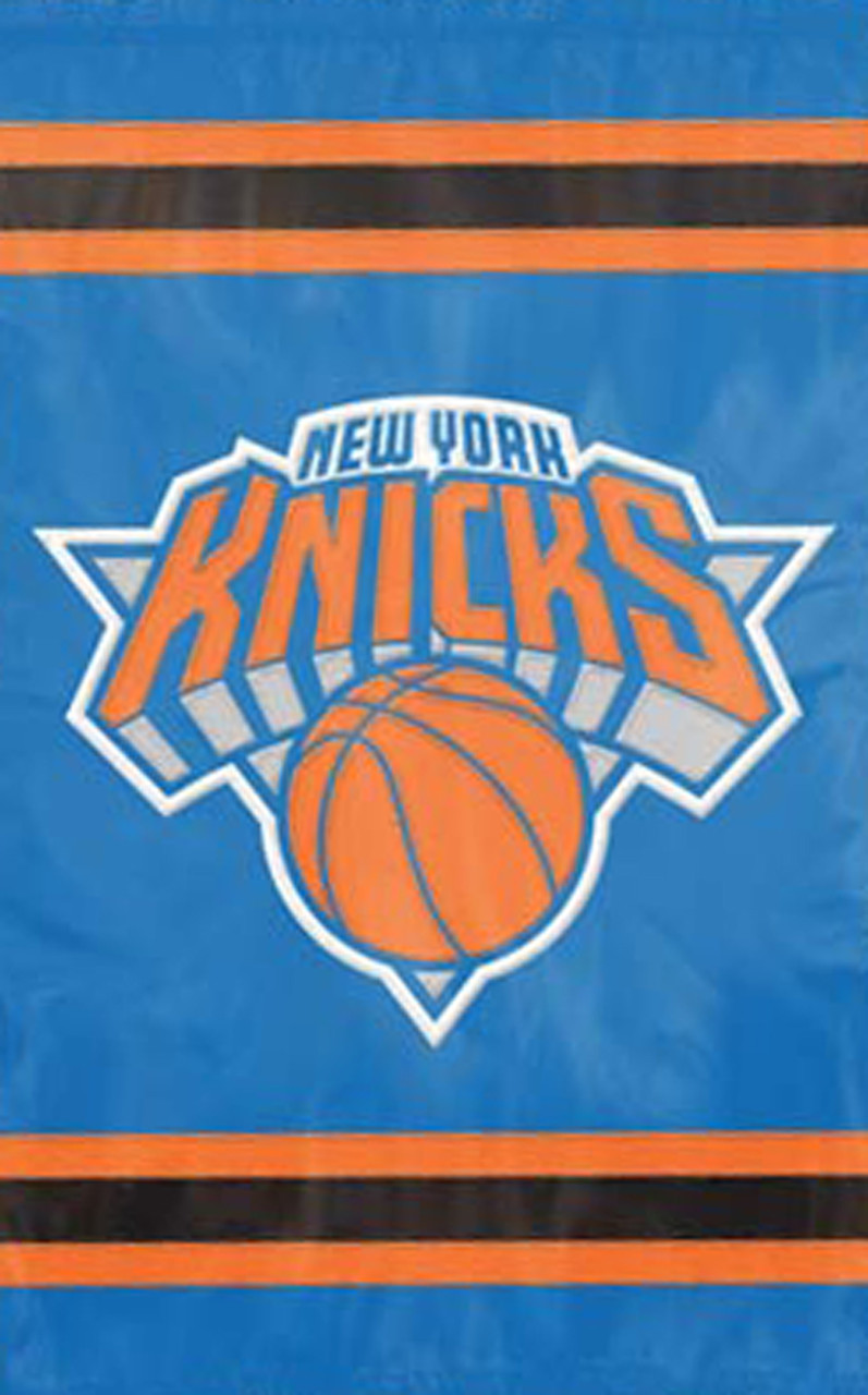 NBA New York Knicks 28 x 44 Team Logo Applique Flag