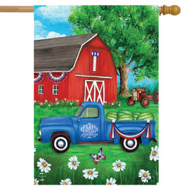 Sunshine Barn Summer House Flag
