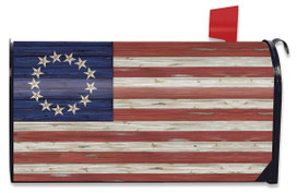 Betsy Ross Flag Patriotic Mailbox Cover