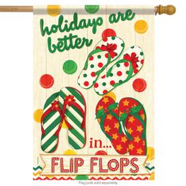 Flip Flop Holidays House Flag