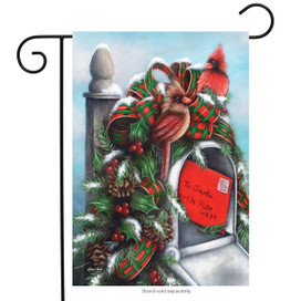 Letter to Santa Christmas Garden Flag