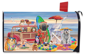 Dog Days of Summer Nautical Mailbox Cover