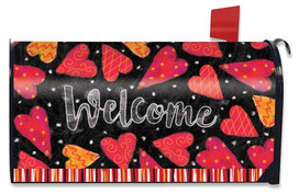 Valentine Holiday Large / Oversized Magnetic Mailbox Cover