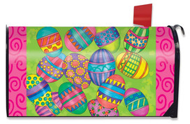 Easter Eggs Holiday Magnetic Mailbox Cover