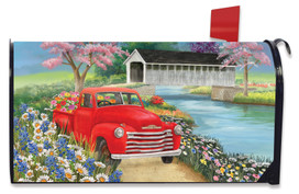 Spring Covered Bridge Mailbox Cover