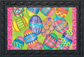Easter Eggs Holiday Doormat