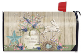Gifts of Spring Primitive Magnetic Mailbox Cover