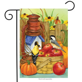Autumn Display Birds Garden Flag