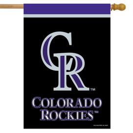 Colorado Rockies MLB Licensed House Flag