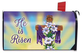 Easter Cross Holiday Large / Oversized Mailbox Cover