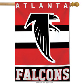 Atlanta Falcons Vertical NFL House Flag
