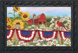 America The Beautiful Summer Doormat