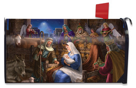 Holy Family Christmas Large / Oversized Mailbox Cover
