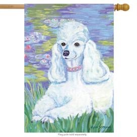 Bonet Poodle Dog House Flag