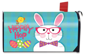Hippity Hop Bunny Easter Mailbox Cover