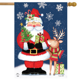Christmas Delivery Holiday House Flag
