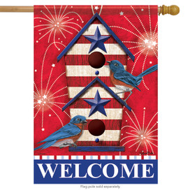 Bluebird Fireworks House Flag