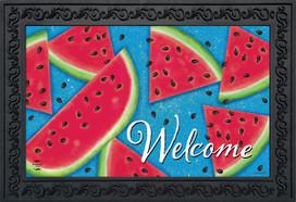 Watermelon Welcome Summer Doormat