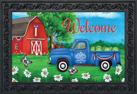 Sunshine Barn Summer Doormat