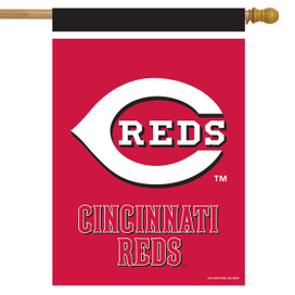 Cincinnati Reds MLB Licensed House Flag