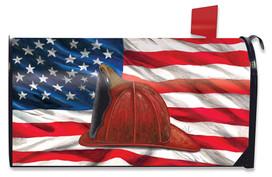 Fireman Helmet Magnetic Mailbox Cover