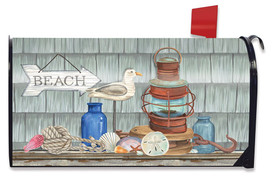 Beachy Vibes Summer Large / Oversized Mailbox Cover