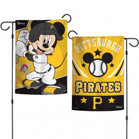 Pittsburgh Pirates Mickey Mouse Garden Flag