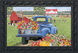 Day On The Farm Spring Doormat