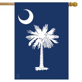 South Carolina Palm Tree House Flag