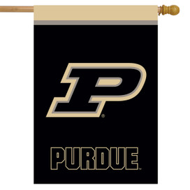 Purdue Boilermakers NCAA Licensed House Flag