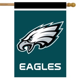 Philadelphia Eagles NFL Licensed House Flag