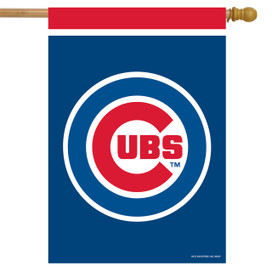Chicago Cubs MLB House Flag