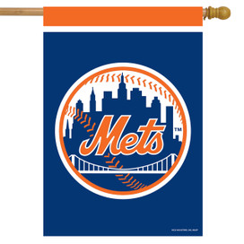 New York Mets MLB Licensed House Flag