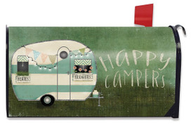 Happy Campers Summer Mailbox Cover
