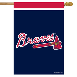 Atlanta Braves MLB House Flag