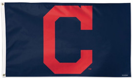 Cleveland Indians MLB Deluxe Grommet Flag