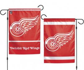 Detroit Red Wings 2 Sided NHL Garden Flag
