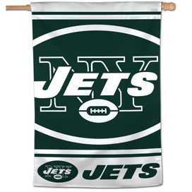 NY Jets Vertical NFL House Flag