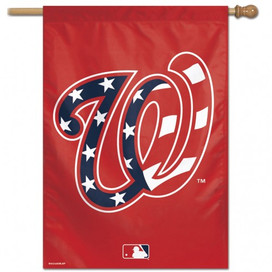Washington Nationals Stars & Stripes MLB Vertical Flag