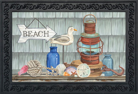 Beachy Vibes Summer Doormat