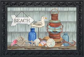 Beachy Vibes Summer Doormat