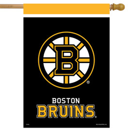 Boston Bruins NHL House Flag