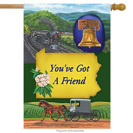 Pennsylvania State House Flag You've Got A Friend