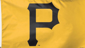 Pittsburgh Pirates Deluxe MLB Grommet Flag