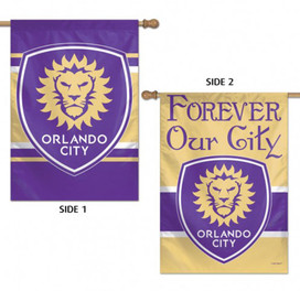Orlando City Double Sided MLS House Flag