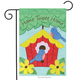 Home Tweet Home Spring Garden Flag