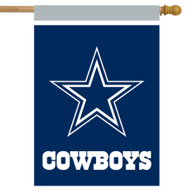 Dallas Cowboys NFL House Flag