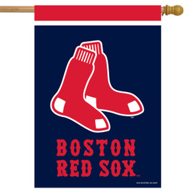 Boston Red Sox MLB House Flag